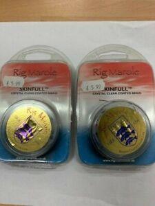 RIG MAROLE SKINFULL BROWN COATED HOOK LINK 15lb 2 packs