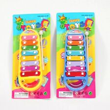 New listing Hand Knocks 8-Note Xylophone Kid Musical Toys Preschool Toddler Baby Blue