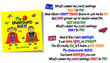 My Underpants Rule Children's Educational / Education Book Early Learning School