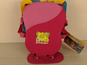 SwimSchool Foam Pad Trainer. Medium/Large 40-55lbs. Pink