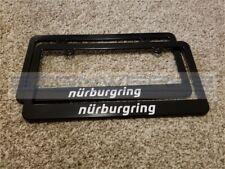 Nurburgring License Plate Frame Germany BMW M AMG VW Racing - Pair