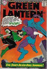 "DC (1966)GREEN LANTERN #44 - ""Evil Stars Death-Duel Summons!""  5.0 VG/FN"