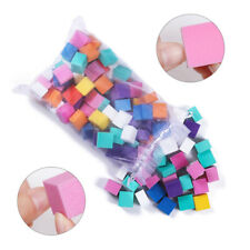 Mini Irregular Sanding Sponge Nail Buffer Files Grinding Polishing Nail Art Tool