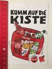 ADESIVI/Sticker: vieni a della cassa-COCA COLA-Radio Amburgo (260516118)