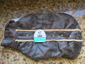 BNWT POUCH COUTURE Bomber Jacket size Med