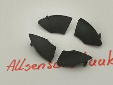 fiat 500 radio cd button buttons BLACK trim mould cover removal 4pcs