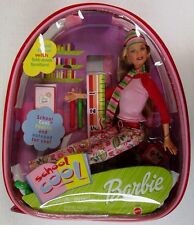 Barbie School Cool Doll with Plastic Backpack (NEW)
