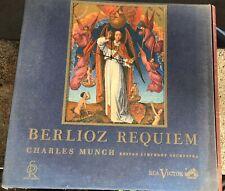 Berlioz Requiem Charles Munch Boston Symphony RCA Victor