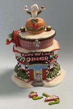 Dept 56 North Pole Village - Red'S Elf Land Diner 56765 Retired 2005 Wbx - Note