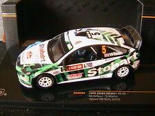 FORD FOCUS RS WRC 08 #5 WALES GB RALLY 2009 WILSON MARTIN IXO RAM404 1/43