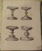 1883 Antica Incisione. Pacchetto Singolo Pasticceri Grands Prese IN Pasta