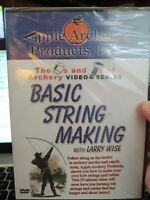 New DVD: Nuts and Bolts of Archery: Basic String Making w Bowhunting Larry Wise