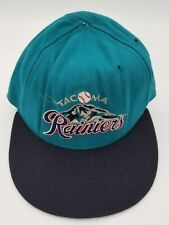 Vintage Tacoma Rainiers New Era Fitted Hat Deadstock 6 3/4 90's Rare NWOT