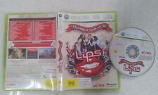 Lips Number One Hit Xbox 360 PAL Version