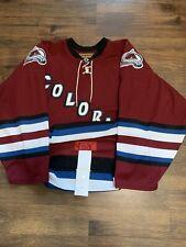 Authentic Koho Colorado Avalanche Nhl Hockey Jersey Alternate Word Maroon 48