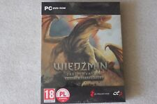 The Witcher 2 - Steel Case PC DVD STEELBOOK G2 + SOUNDTRACK Exclusive +GOG CODE