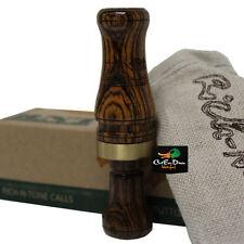 Rnt Rich-N-Tone Alpha 2 Double Reed Mallard Hen Duck Call Bocote Wood
