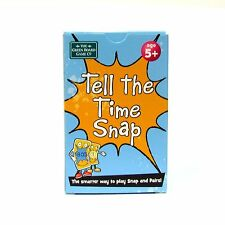Time Snap and Pairs Cards Memory Game Early Learning Clock Brainbox 5+