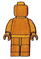 Écusson patche bonhomme patch décoratif pour vêtements thermocollant