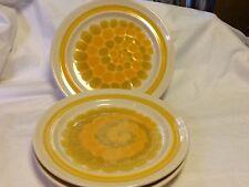 Vintage FRANCISCAN Earthenware SUNDANCE Pattern Dinner Plates Lot of 3