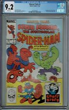 CGC 9.2 MARVEL TAILS #1 1ST APPEARANCE OF PETER PORKER SPIDER-HAM 1983 WHITE PGS
