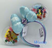 New Disney Parks Pixar UP Minnie Mickey Mouse Ears Headband Grape Soda Balloons