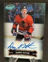 2006-07 Parkhurst Autographs #127 Darryl Sutter Hard Signed