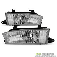 1997 1998 1999 Subaru Legacy Outback Headlights Headlamps Replacement Left+Right