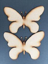 3mm MDF 2 x Butterflies