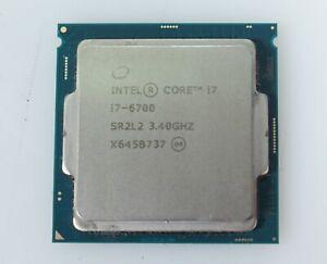 Intel Core i7-6700 3.40GHz Quad Core LGA1151 64-Bit 65W Processor SR2L2