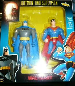 NEW Batman Adventures-Batman and Superman-Hasbro- Walmart-Special Edition-sealed
