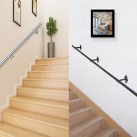 Stair Handrail Steel Pipe for Stairs Railing Grab Stair Rail Outdoor Steps