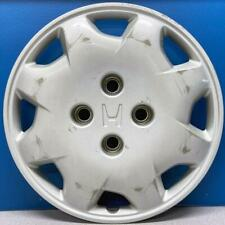 14 inch Hubcaps Best for 2003-2007 Honda Accord - Auto Tire Replacement Exterior Cap Set of 4 Car Accessories for 14 inch Wheels Wheel Covers 14in Hub Caps Chrome Rim Cover Snap On Hubcap
