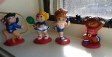 Cabbage Patch Kids Olympics 1995 PVC Mini Figures  OAA  MATTEL Set of 4