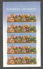 4912-4915b Farmers Market IMPERF Sheet Mint NH