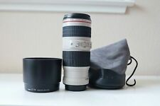 Canon EF 70-200mm f/4L IS USM Lens- MINT