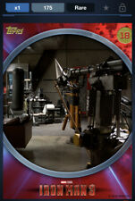 Topps Marvel Collect DIGITAL IRON MAN 3 BEHIND THE SCENES - ID #4662 175CC