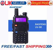 BaoFeng UV-5R Plus Dual Band VHF/UHF 136-174/400-520MHz FM Ham Two-way Radio UK