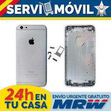 "Chasis Trasero para Apple Iphone 6 Plus 5,5"" Gris Espacial Negro Tapa Carcasa"