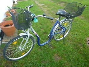 Damenfahrrad Seniorenrad tiefer Einstieg 26 Zoll