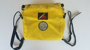 Vintage Cannondale Front Handlebar Bag House Logo Yellow Biking Reflector