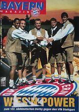 Programm 1999/00 FC Bayern München - VfB Stuttgart