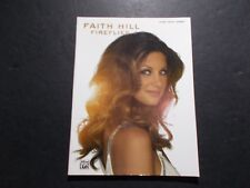 * Faith Hill-Fireflies-Songbook piano/vocal/chords -