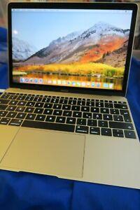 Apple MacBook Retina 12-inch, Early 2015 A1534  Intel Core M