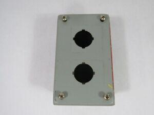 Wiegmann PB2 2-Hole Push Button Enclosure 5.75X3.25X2.75 ! WOW !