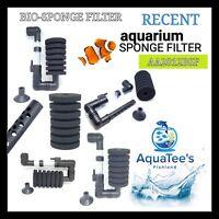 RECENT AA2812BSF BIO-SPONGE FILTER Biochemical Aquarium Fish Tank Air Pump