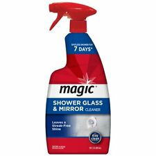 Magic American Glass Cleaner Magic Shower Door Cleaner 28 Ounce Removes Soap Scu