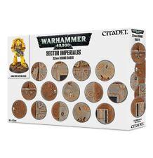 Warhammer 40k Sector Imperialis 32mm Bases NIB