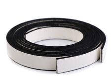 2 Stück Taschengriffe / Lederriemen weiss 120cm / 15mm Eco-Leder vernäht