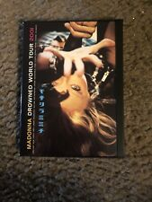 Madonna - The Drowned World Tour (DVD, 2001) 120 Minutes Very Good!